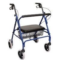 Brand New High Quality Karman 24 lbs Extra Wide Steel Rollator