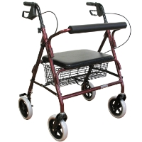 Brand New High Quality 20 lbs Extra Wide Aluminum Rollator