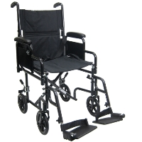 Brand New High Quality Karman T-2700 tool-less Detachable Desk Length Armrest Transport Wheelchair