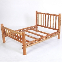 Brand New Rustic Furniture Nicholas Full Bed