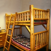Brand New Rustic Furniture Nicholas Bunk Bed