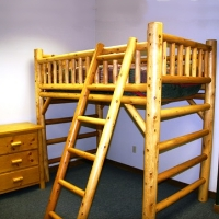 Brand New Rustic Furniture Loft Bed