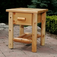 Brand New Rustic Furniture Night Stand w/ Drawer