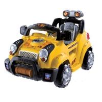 Power Ride On RC Remote Control Green Safari Jeep Style Kids Wheels Car