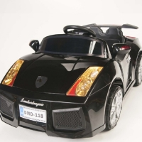 Kids Lambo Ride On Remote Control Wheels Electric Power Car