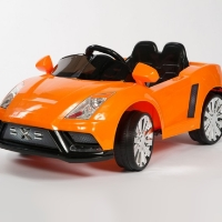 12v Radio Remote Control Ride On Power Kids Lambo Style Wheels Car