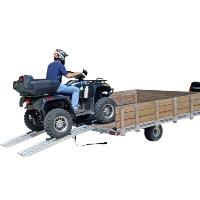 "Brand New High Quality 72"" Patented Aluminum ATV Ramp"