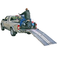 "Brand New High Quality 7'5"" Folding Motorcycle Ramp"