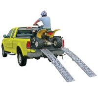 Brand New Plate Style Dual Folding ATV Ramp