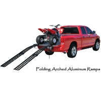 Brand New 9' Folding Arched ATV Ramp