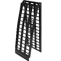 """Brand New High Quality 17"""" Wide Folding Motorcycle Ramp"""