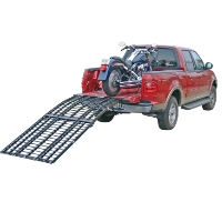 "Brand New High Quality 7'10"" Folding Motorcycle Ramp"