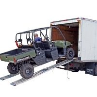 Brand New 12' Dual Folding Loading Ramp